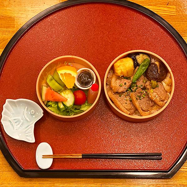 鴨ステーキ丼