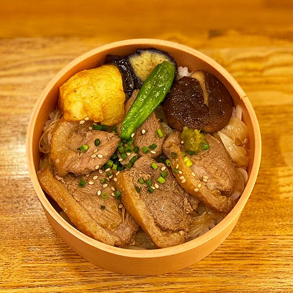 鴨ステーキ丼2